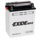 Аккумулятор сухозаряженный Exide 12Ah 110A 12N12A-4A-1